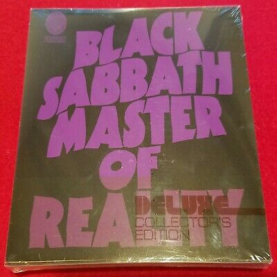 Black Sabbath - Master Of Reality - 2 Cd Deluxe Edition - Factory Sealed