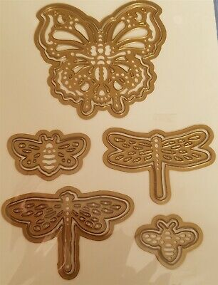 Anna Griffin Butterfly Bee Dragonfly Die Set Card Making