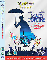 Mary Poppins (DVD, 2005, 2-Disc Set, Set)
