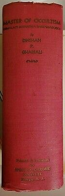 Master of Occultism ~ Dinshah Ghadiali ~ Spectro-Chrome 1935 Rare ~ Occult