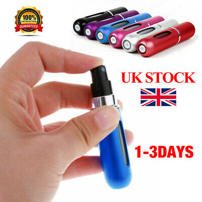 Perfume Atomiser Refillable Aftershave Atomizer Travel Bottle Mini Pump Spray UK