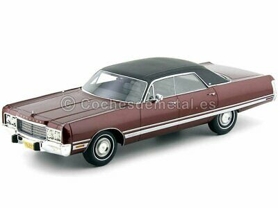 1:18 BoS Chrysler New Yorker Brougham 1973 darkred-metallic//black