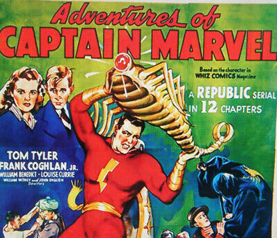 Adventures of Captain Marvel (1941) Complete 12 Part Movie/TV Serial on DVD