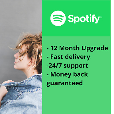 Spotify 12 Month Premium your personal account