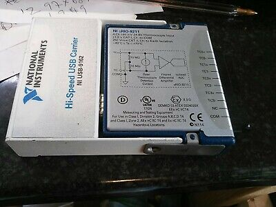 National Instruments NI 9260 with BNC w/ Hi-Speed USB Carrier USB-9162