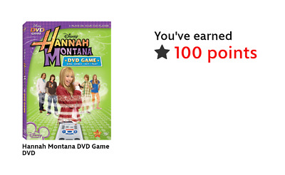 Disney Movie Rewards DMR Code 100 Points PTS Hannah Montana DVD Game CODE ONLY