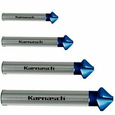 Countersink 90°, Sinker, Deburring, Cbn ,Blue-Tec,Rapid-Cut,Karnasch, 6,3 -31mm