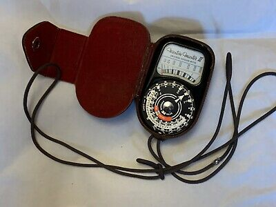 Weston-Master III Light Meter, with Case
