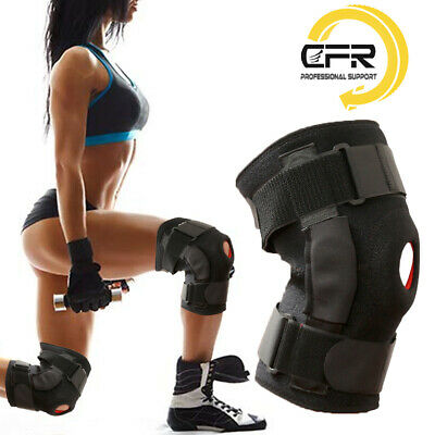 Hinged Power Knee Stabilizer Pad Lift Joint Weak Support Powerful Spring Force
