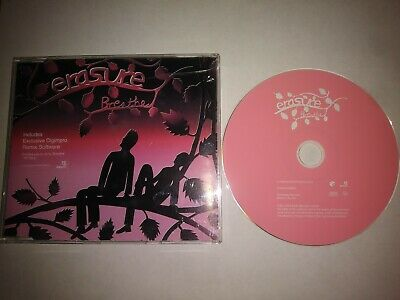 Erasure Breathe Cd Single With Digimpro Remix Software