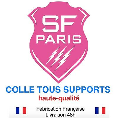Stickers autocollant SECTION Féminine SF RUGBY, plusieurs tailles, super prix