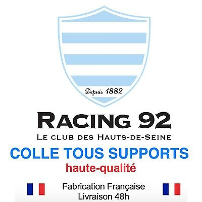 Stickers autocollant RACING 92 RUGBY, plusieurs tailles, super prix