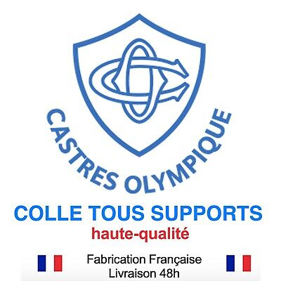 Stickers autocollant CASTRES OLYMPIQUE CO RUGBY, plusieurs tailles, super prix