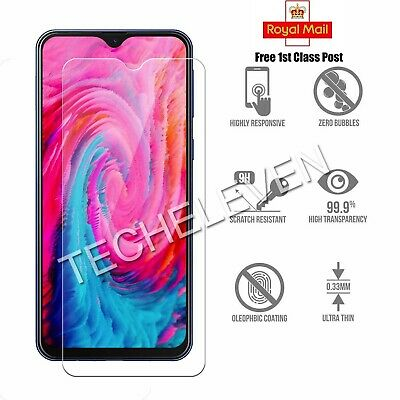 For Samsung Galaxy A10 Clear Mobile Phone Screen Protector Tempered Glass Film