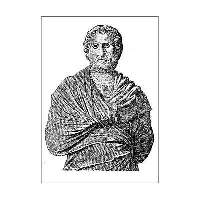 13590773 A1 (84x59cm) Poster Aeschines (389-314 BC). Greek statesman, one o...