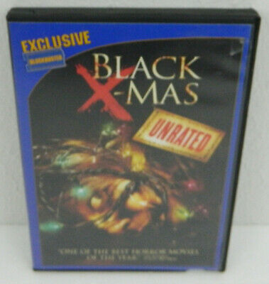 BLACK X-Mas Christmas DVD 2007 Unrated Widescreen BLOCKBUSTER Exclusive Watched