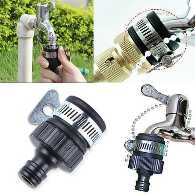 Universal Tap To Garden Hose Pipe Connector Mixer Kitchen Bath Tap Adapter UK
