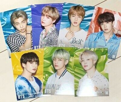 BTS Lights/Boy with Luv Official Photo Universal Music store limited ver. Japan