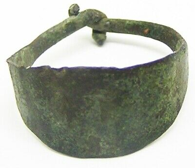 10th - 11th century AD ancient Scandinavian Viking copper-alloy lozengiform ring
