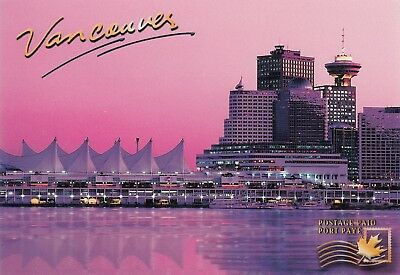 Canada Ux 142 #260183 -Van182 Postage Paid Postcard - Vancouver Place Waterfront