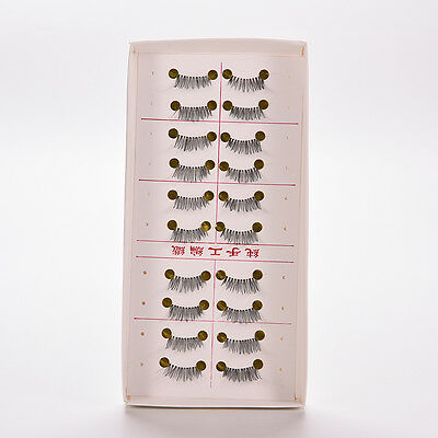 10 pairs/lot Half/ Mini /Corner Winged False eyelashes Cute eye lashes K ly