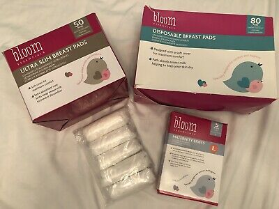 Maternity Bundle NEW Breast Pads & Disposable Briefs Large
