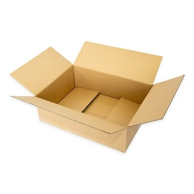 Mailing Box 430x305x140mm Regular Slotted Brown Shipping Carton BX4 B4 Size