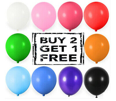 20X Latex PLAIN BALOON BALLONS air/helium BALLOON Quality Party Birthday Wedding