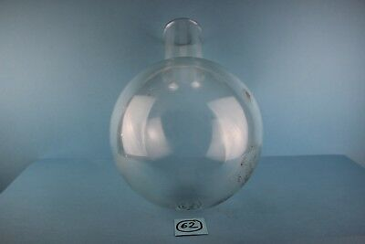 Alter  Glasballon Boral Pula Transparent 6 Liter Nr 62