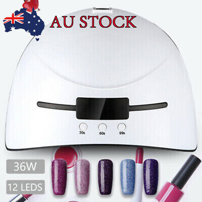 36W UV Manicure phototherapy machine Nail Lamps LED Nail Dryer Curing Lamp WDS