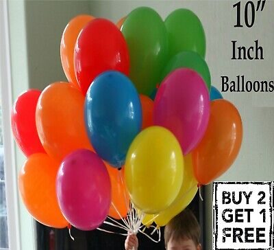30X Latex PLAIN BALOON BALLONS air/helium BALLOON Quality Party Birthday Wedding