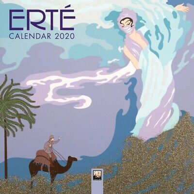 Erte - Mini Wall Calendar 2020 - Foiled Cover