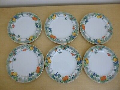 """6 Wedgwood Home Eden 7"""" Side Plates - 2 Sets Available"""