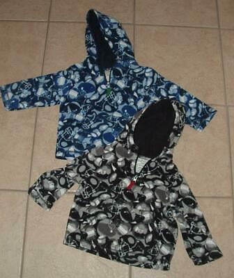 Infant Boys 24M / 24 Months Hooded Sports Theme Fleece Shirt  CHILDRENS PLACE