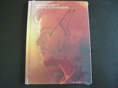 Jack Savoretti - Singing To Strangers  Deluxe CD Signed new & sealed