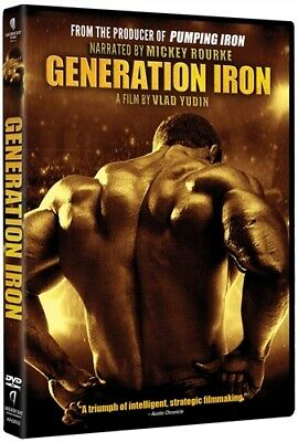 GENERATION IRON New Sealed DVD From Producer of Pumping Iron