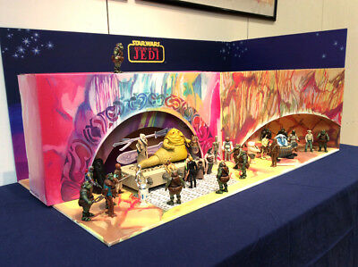 Jabba's Palace Playset Limited Ed. Hand Signed L.Topalian Star Wars collection