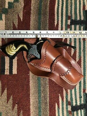 AZULA LEATHER SINGLE Action Revolver Cross Draw Holster For