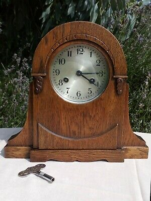 1930s Mantle Clock - Complete Movement with Key