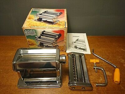Fresh Pasta Machine Boxed Maker With instructions Metal Quality