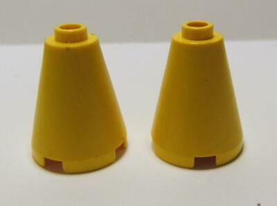 3942 14918 8 Pieces 8 LEGO Sand Green Cone 2 x 2 x 2 Round Brick Harry Potter