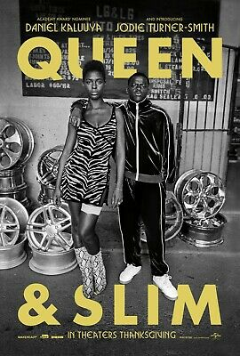 "Queen & Slim Movie Poster  24"" x 36"" or 27"" x 40"""