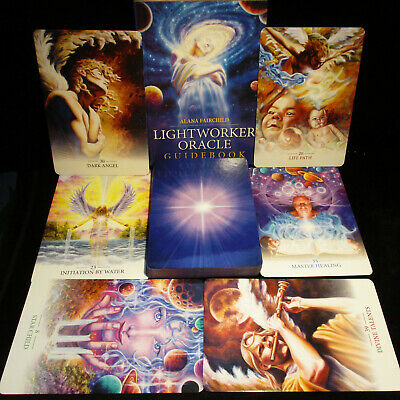 New Open For Pics ~ Lightworker Cards & Book Oracle Fulfill Your Life's Purpose