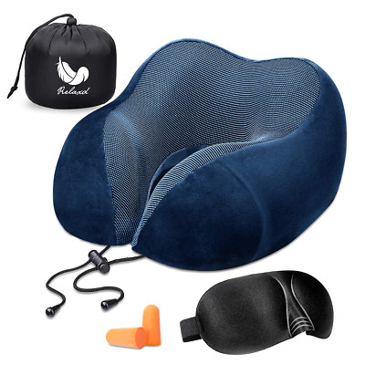 Relaxd Neck Pillow for Travelling – Memory Foam Travel Pillow – Scientifically –