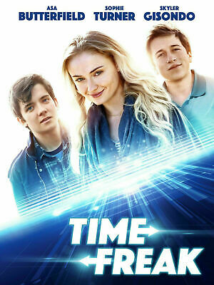 Time Freak (DVD, 2019) Sophie Turner ROMANCE TIME TRAVEL USED VERY GOOD