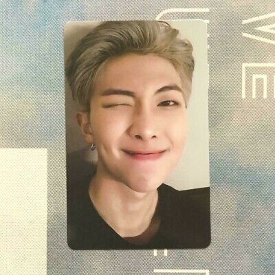 BTS RM Official Photocard Love Yourself World Tour EUROPE DVD photocard only