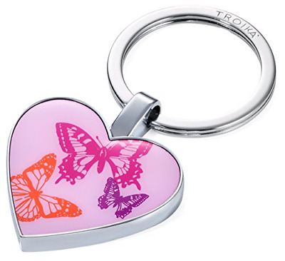 TROIKA BUTTERFLIES – KR16-08/CH – Keyring – token for shopping trolley attached