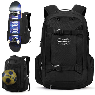Skateboard Backpack Basketball Baseball Football Soccer Ball Multi-function With