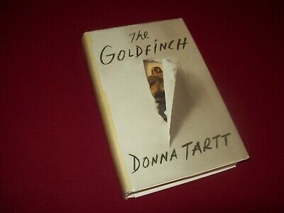The Goldfinch by Donna Tartt (2013) 1st/1st Edition Hardcover Novel ~ Pulitzer