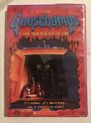 Goosebumps It Came From Beneath The Sink Dvd 4 00 Picclick